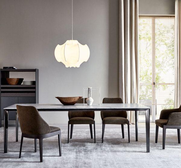 Filigree tavolo + Chelsea poltroncina - Molteni&C.