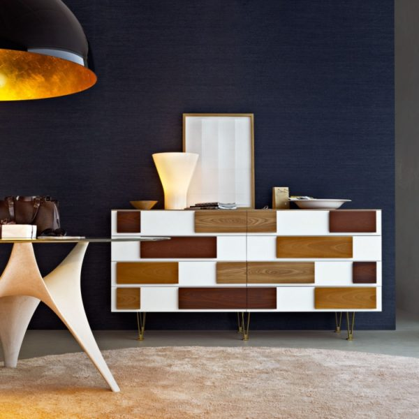 Arc tavolo + cassettone Giò Ponti - Molteni&C.