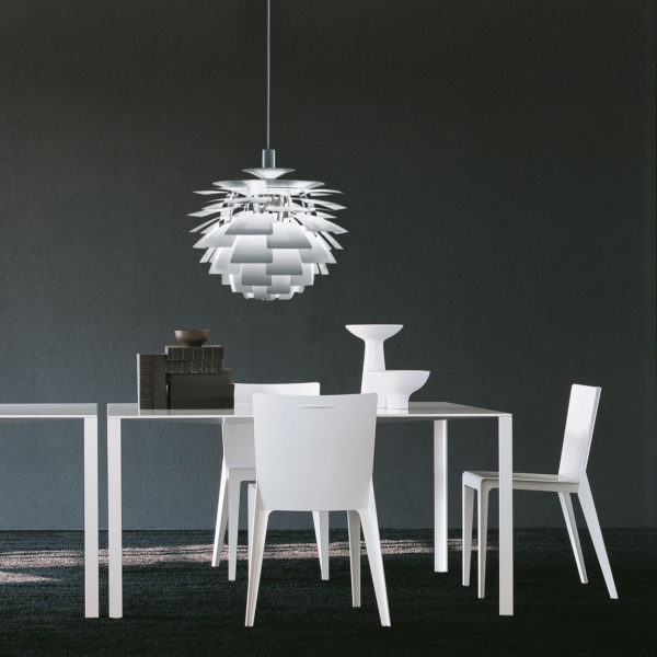 LessLess tavolo + Alfa sedia - Molteni&C.