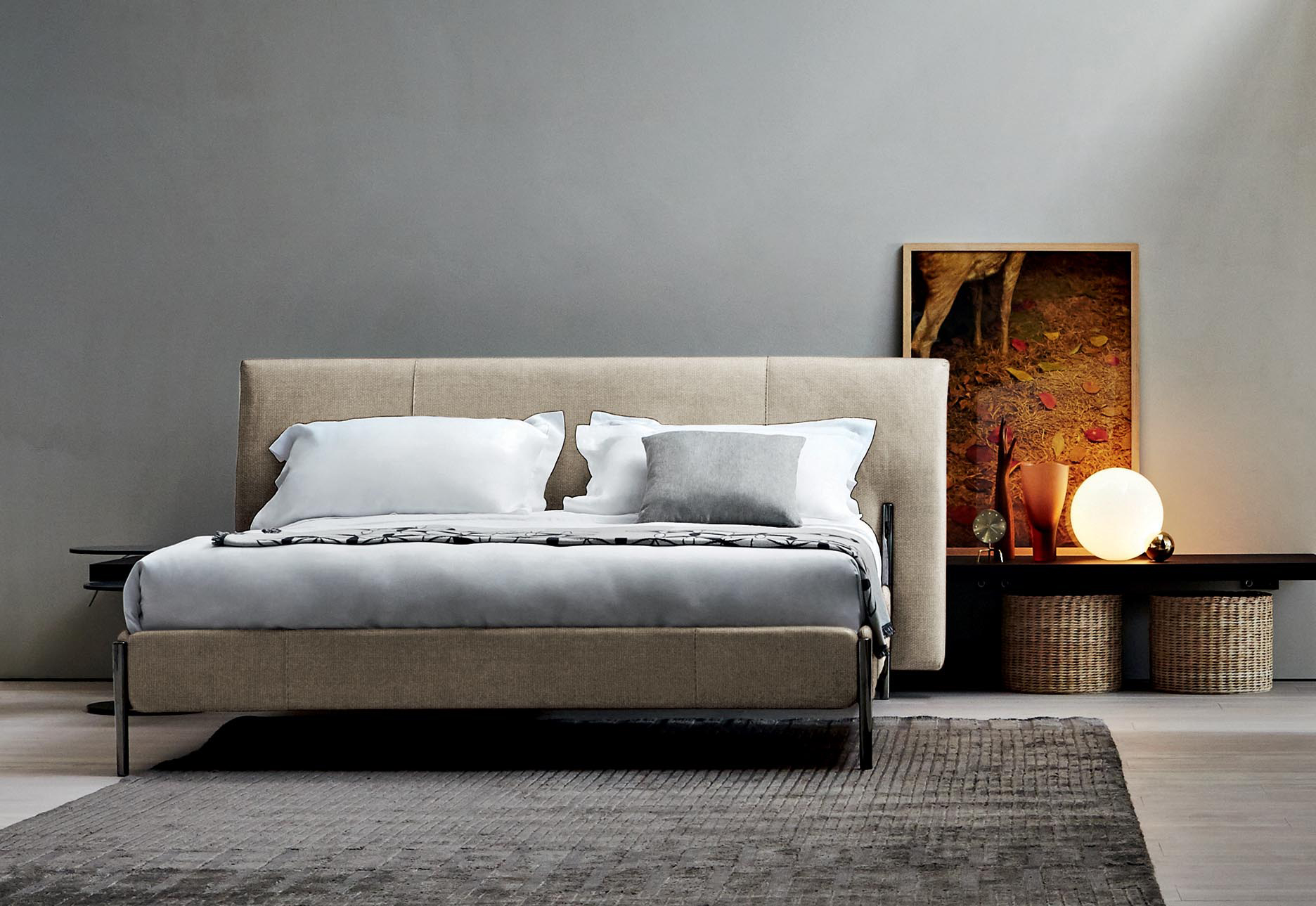 Letti progetto arredamento d 39 interni for Letti di designer
