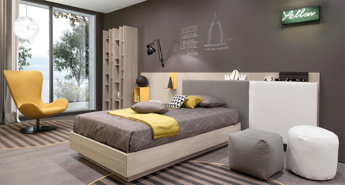 Camera ragazzi progetto arredamento d 39 interni - Progetto camera ...