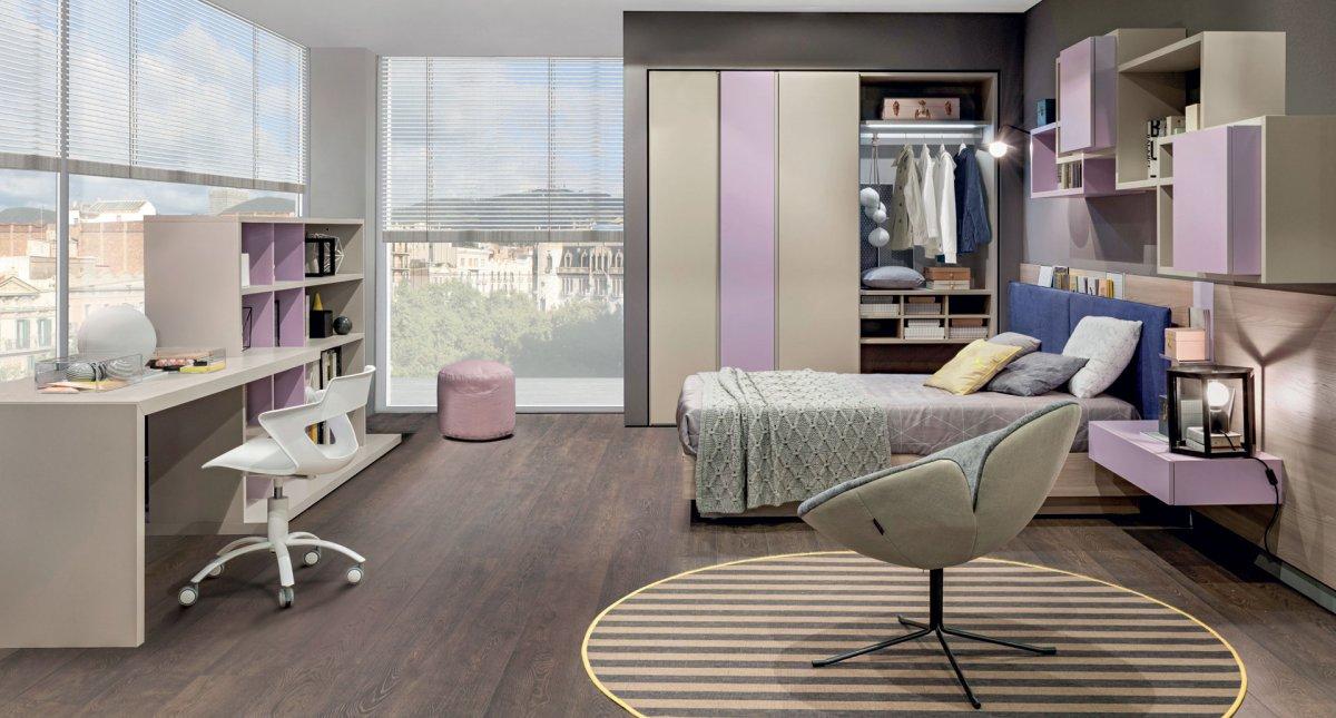 Camera ragazzi progetto arredamento d 39 interni for Mobili per camera ragazzi